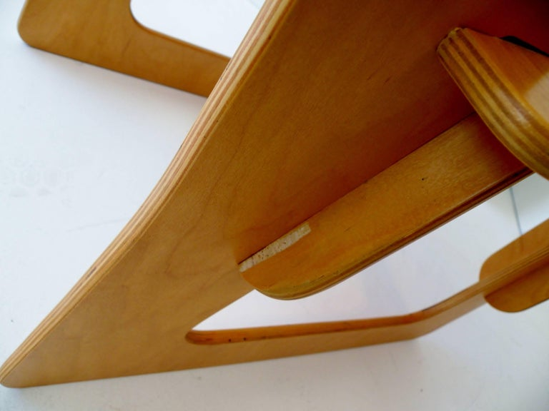 Post War Knockdown Furniture Co Plywood Lounge Chair For Sale 1