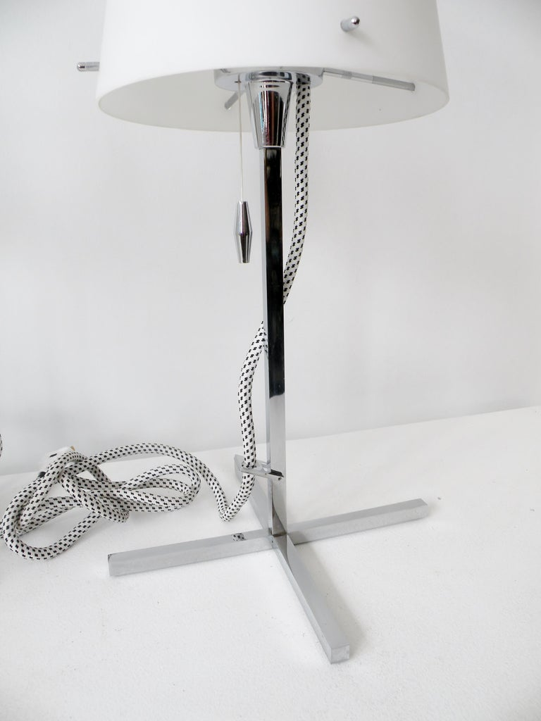 Pair of Nemo Italy Thuban Tavolo Table Lamps For Sale 1