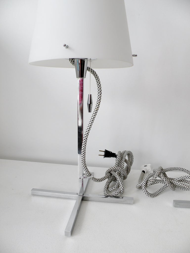 Pair of Nemo Italy Thuban Tavolo Table Lamps For Sale 2