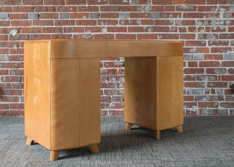 Heywood Wakefield Crescendo Desk In Good Condition For Sale In Denver, CO