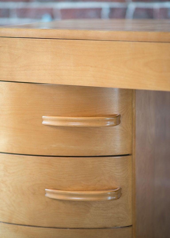 Wood Heywood Wakefield Crescendo Desk For Sale