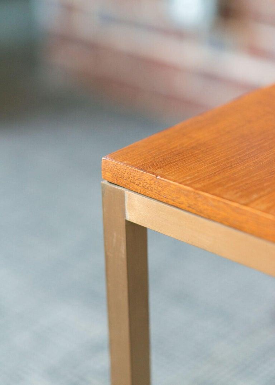 Mid-Century Modern Dunbar Teak Coffee Table  For Sale