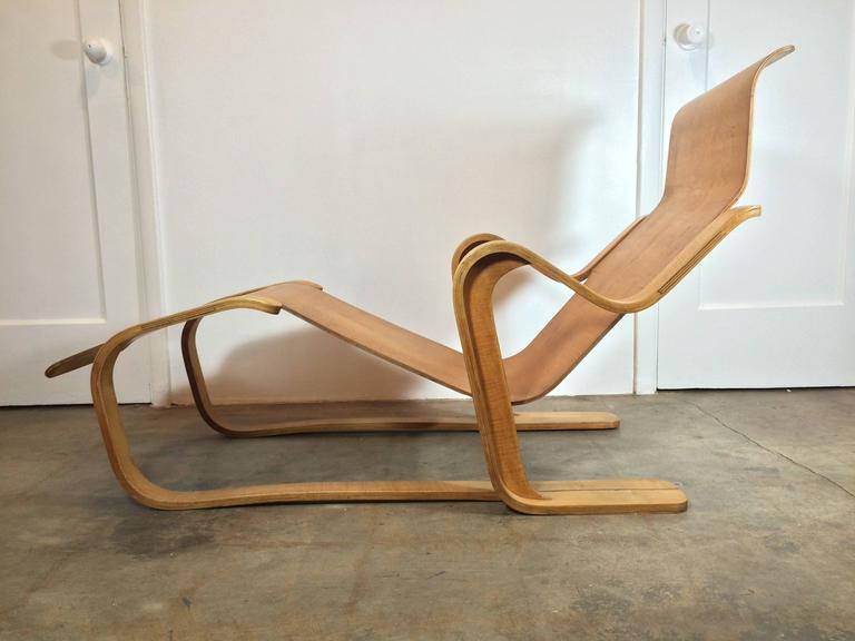 Marcel Breuer Long Chair, 1935-1936 at 1stdibs