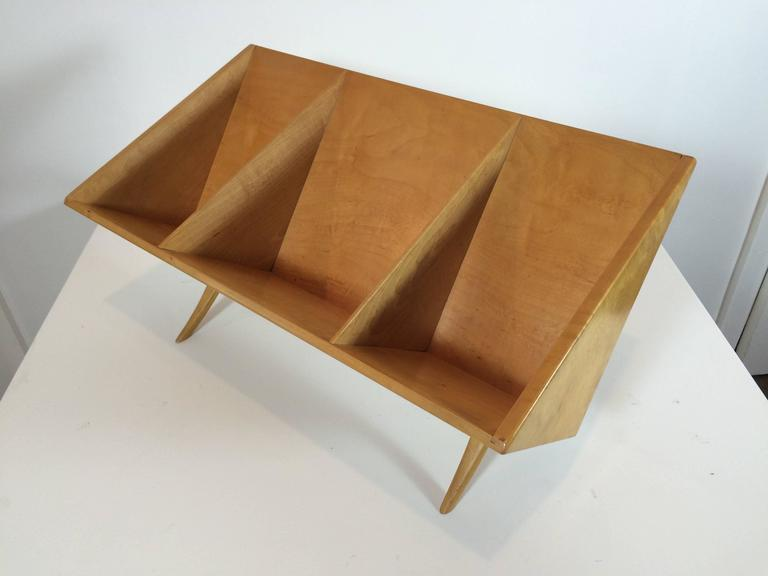 Birch Bruno Mathsson Book Crib For Sale