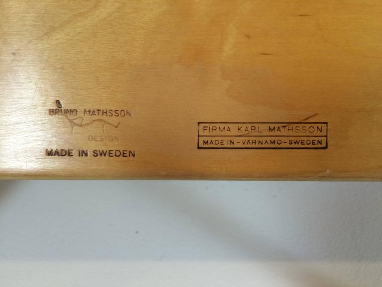 Scandinavian Modern Bruno Mathsson Book Crib For Sale