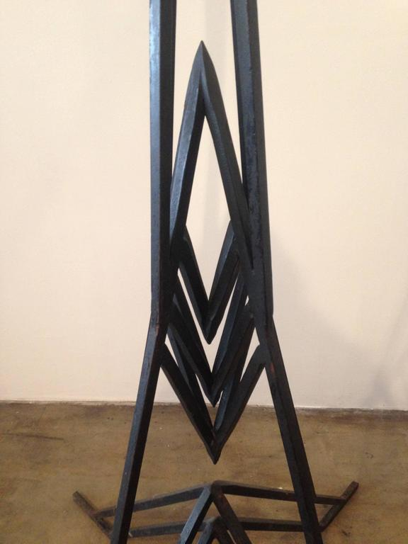 Arizona Biltmore Plant Stand by Frank Lloyd Wright In Good Condition For Sale In Denver, CO