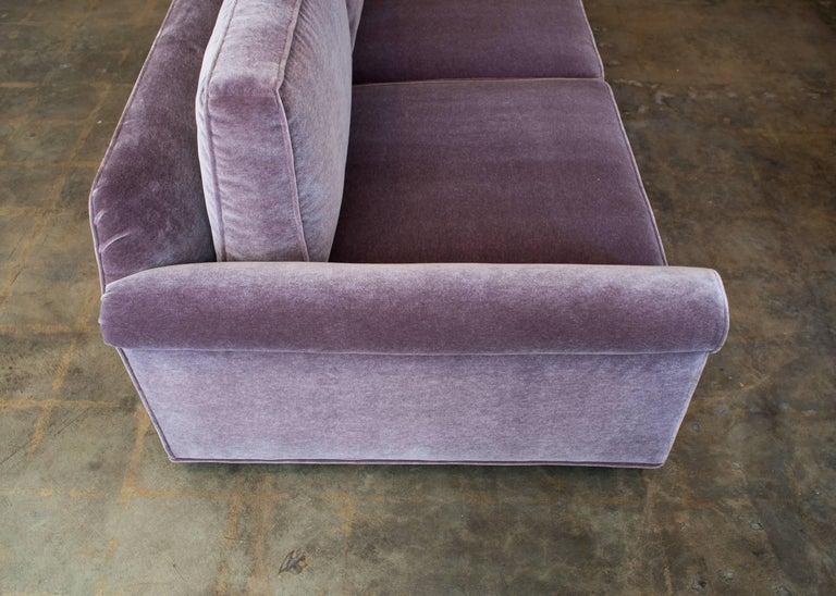 """Edward Wormley """"Big Texan"""" Dunbar Furniture Three-Seat Sofa 6"""