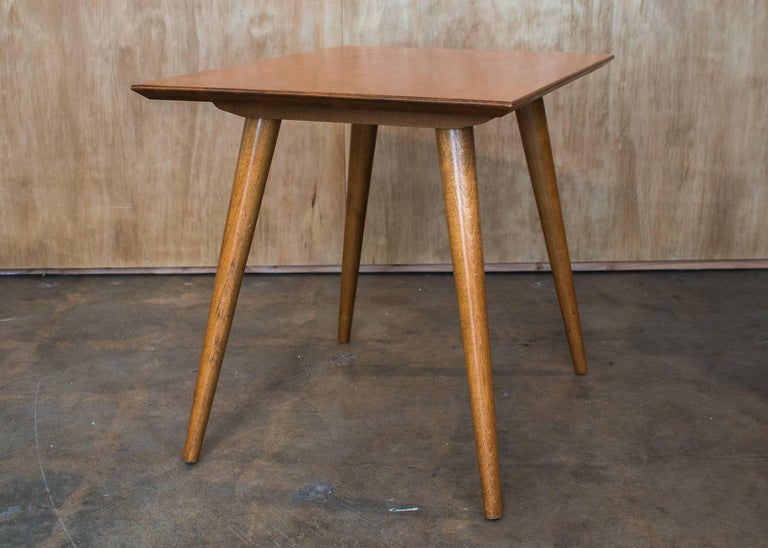 Mid-Century Modern Paul McCobb Planner Group Mable Lamp Side Table Winchendon Furniture For Sale