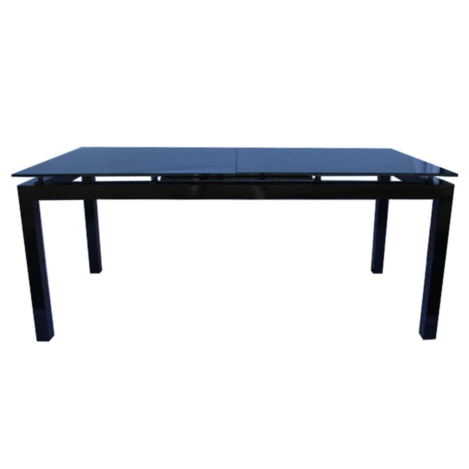 first glass dining table by ligne roset for sale at 1stdibs. Black Bedroom Furniture Sets. Home Design Ideas