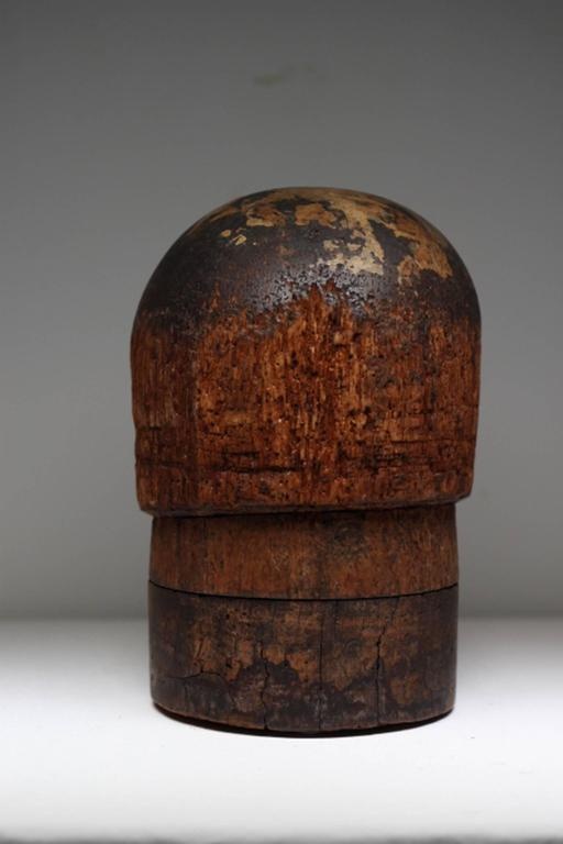 Antique Wooden Hat Mold At 1stdibs