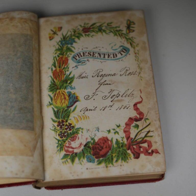 Paper 19th Century Set of Books, circa 1860s For Sale