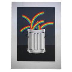 Rubbish Rainbows Patrick Hughes, 1978