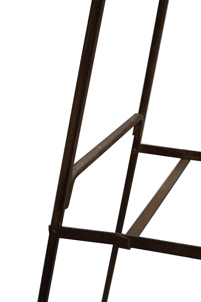 1930s Steel and Wood Ladder For Sale 1