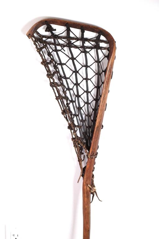 Late 19th Century Lacrosse Stick At 1stdibs