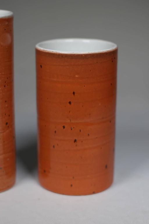 High Fired Glazed Ceramic Vases By Jonn Coolidge For Sale At 1stdibs