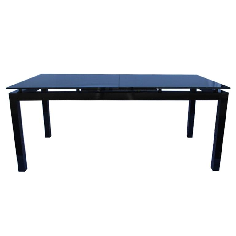 First glass dining table by ligne roset for sale at 1stdibs - Table yoyo ligne roset ...