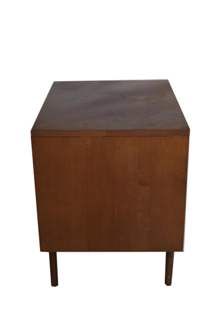 Mid century teak paul mccobb for planner group nighstand for Bedroom furniture 94109