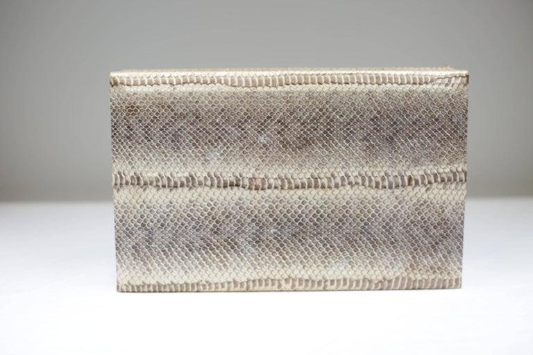 Genuine Snakeskin Box For Sale 1