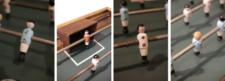 Rare Early 20th Century French Foosball Table, circa 1940s For Sale 2