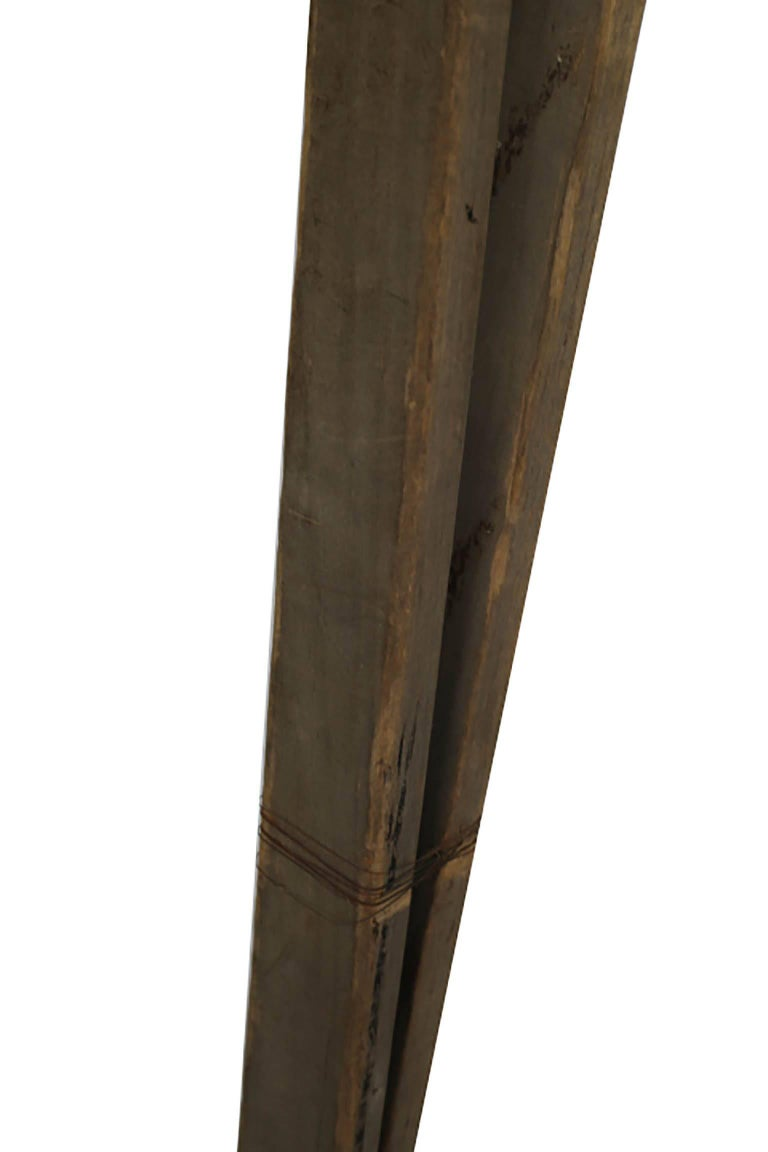 20th Century Large Wooden Apple Ladder, circa 1930-1940s For Sale