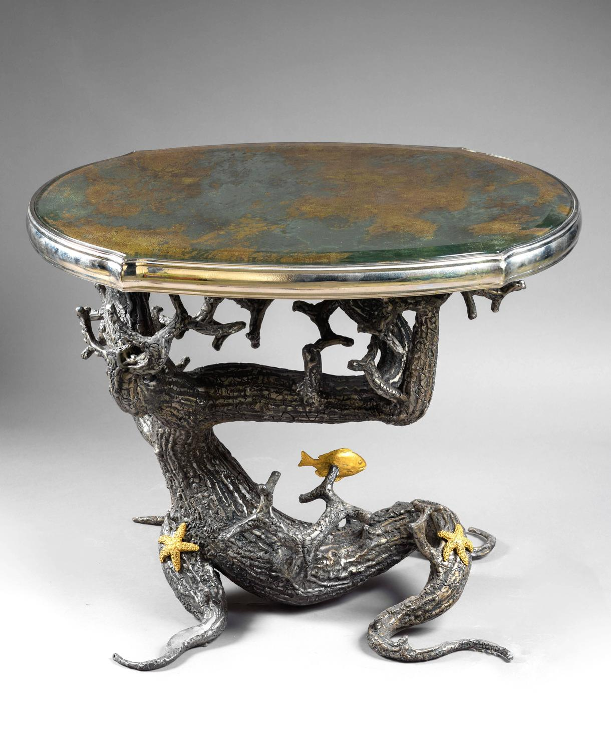 Brazier Jones 2013 Unique Pair Of Coffee Tables For Sale At 1stdibs