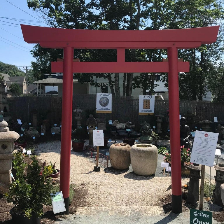 Japanese Red Torii Gate Authentic Aesthetics And Details