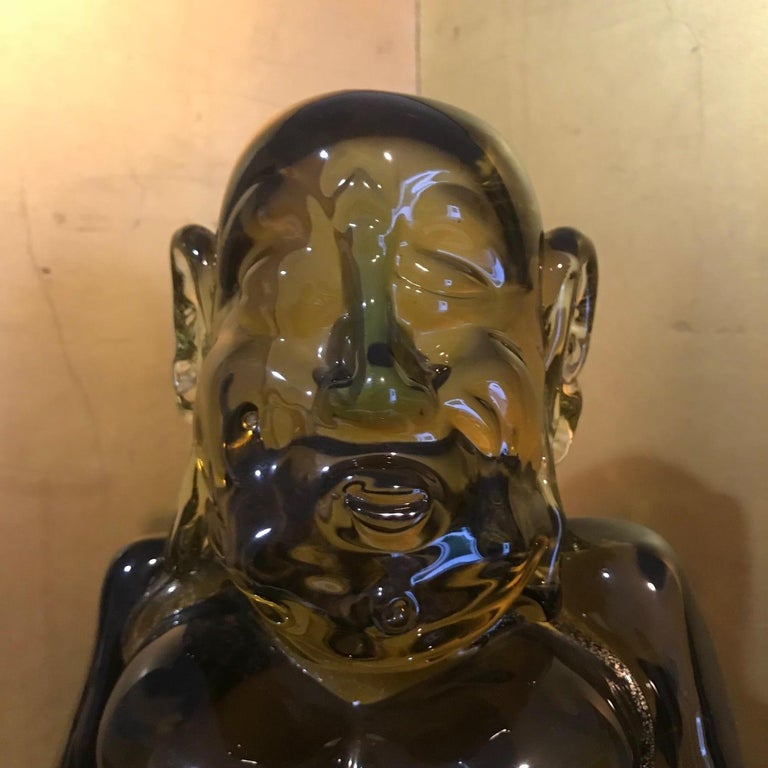 Glass Antique Hand blown BUDDHA