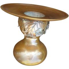 """Japan Superb and Rare Signed Bronze """"Gourd"""" Vase"""