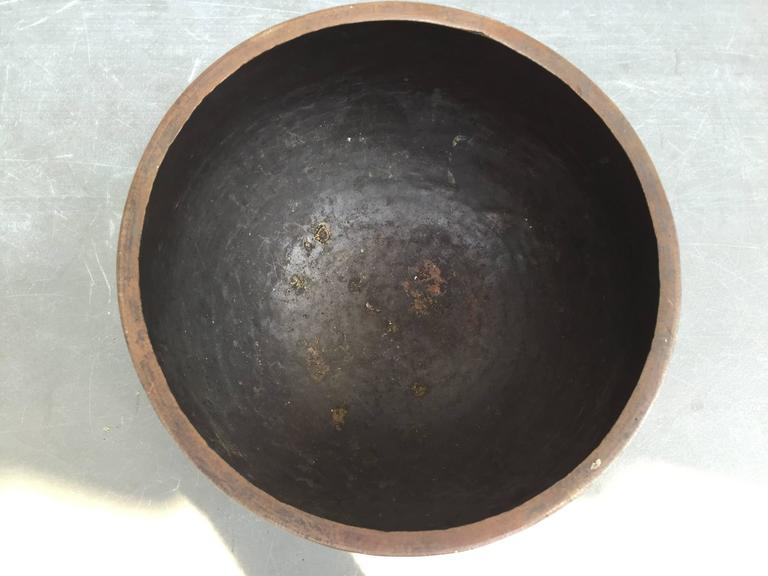 Hand-Crafted Beautiful Old Japanese Hand Cast  Bronze Mediation Temple Bell Soothing, Serene  For Sale