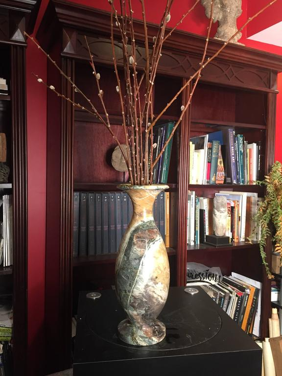 Extraordinary Natural Stone Vase One Of A Kind At 1stdibs