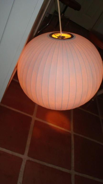20th Century Mid-Century Bubble Lamp by George Nelson