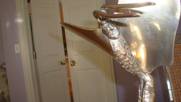 Other McLean 1980 Bronze Fantasy Sculpture For Sale