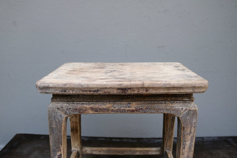 Ming Chinese Wooden Stool from the Shanxi Province For Sale