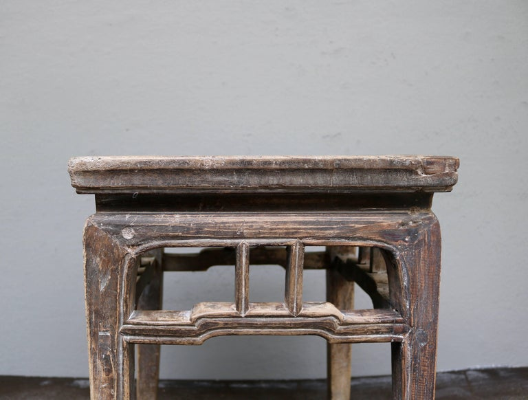 Ancient Chinese Wooden Stool from the Shanxi Province 6