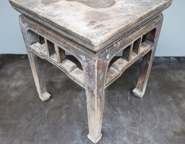 Ancient Chinese Wooden Stool from the Shanxi Province 5