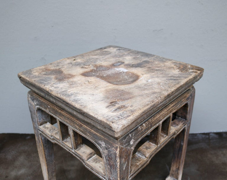 Ancient Chinese Wooden Stool from the Shanxi Province 4