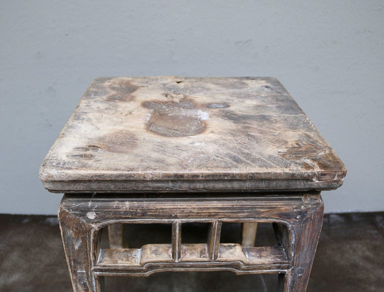 Ancient Chinese Wooden Stool from the Shanxi Province 7