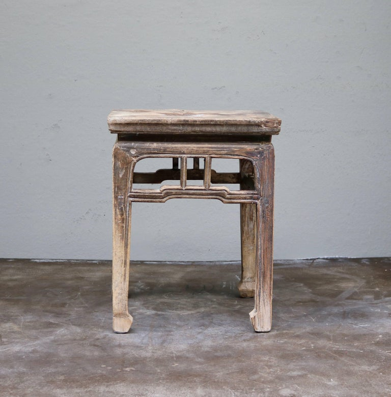 Ancient Chinese Wooden Stool from the Shanxi Province 2