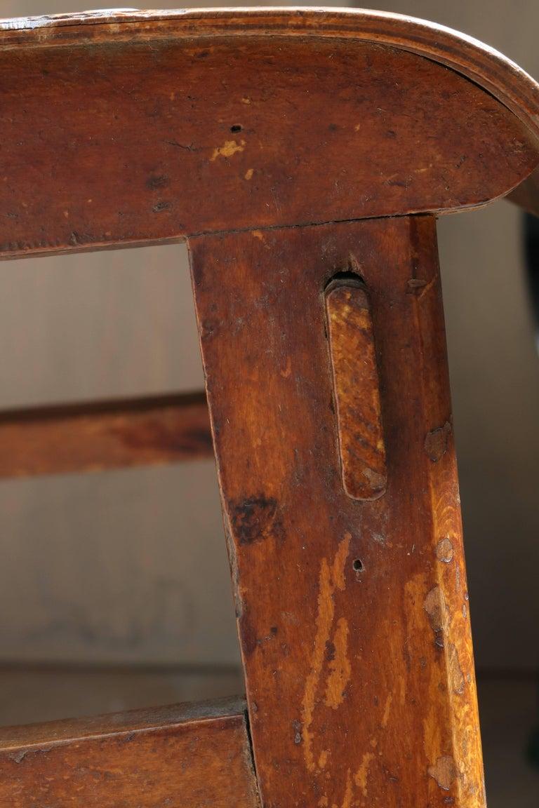 Unique Midcentury Wooden Chair by Jean Prouvé For Sale 6