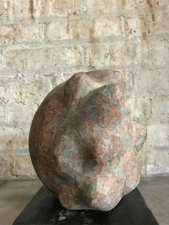 Abstract Sculpture in Granite 2