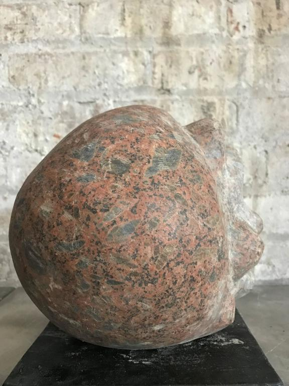 Abstract Sculpture in Granite 3