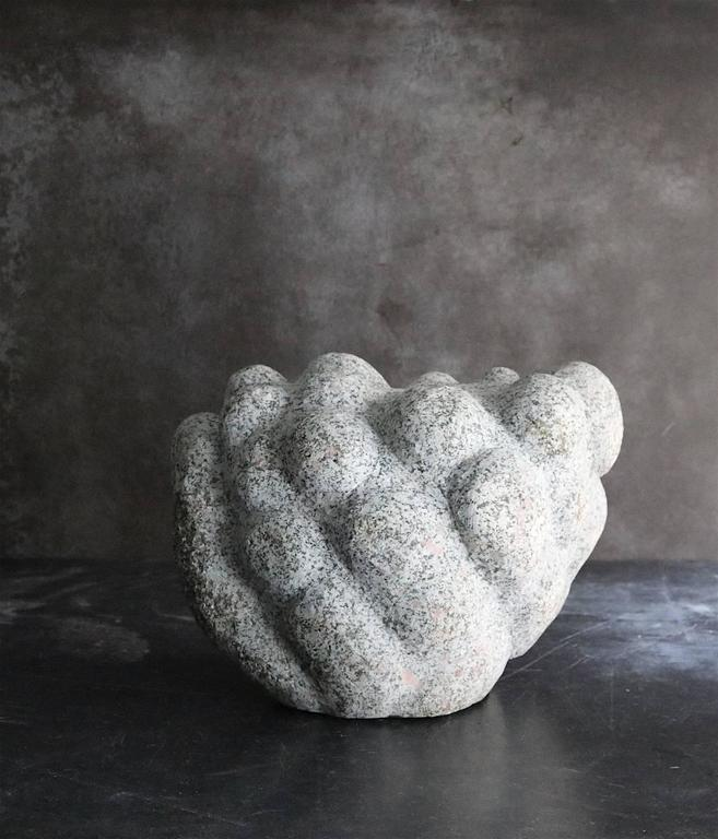 Unique Sculpture in Granite by a Danish Unknown Artist 2