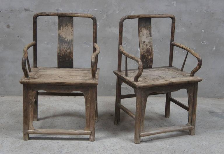 Beautiful Pair of 18th Century Chinese Chairs 2