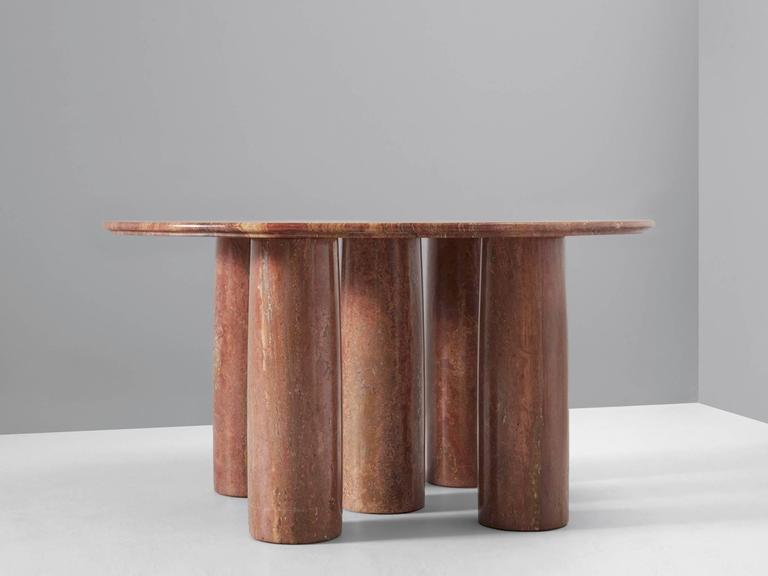 Amazing 1970s Vintage Marble Table by Mario Bellini 4