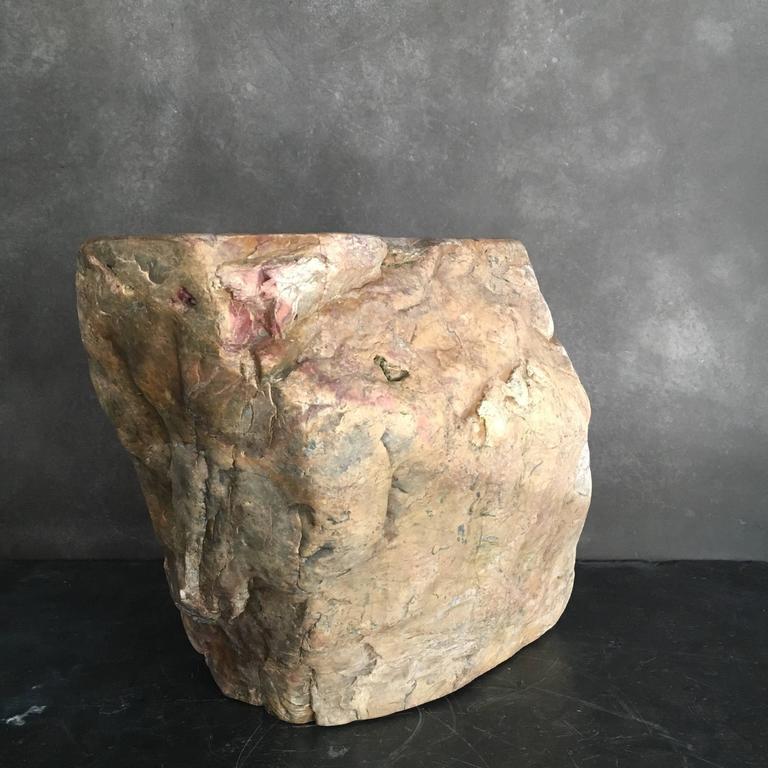 Japanese Stone Stool 2