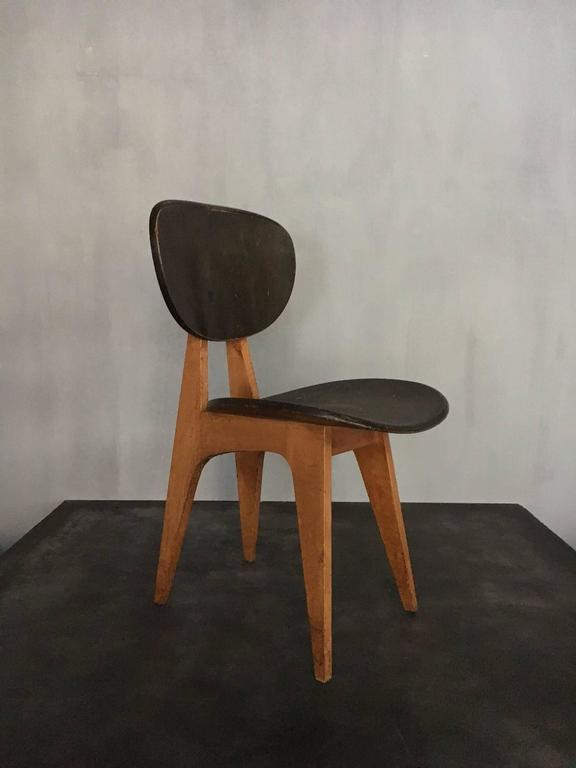 Wood Chairs by Junzo Sakakura For Sale