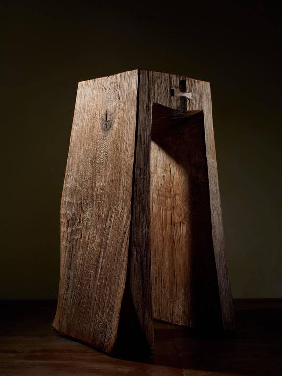 hocker stool by fritz baumann at 1stdibs. Black Bedroom Furniture Sets. Home Design Ideas