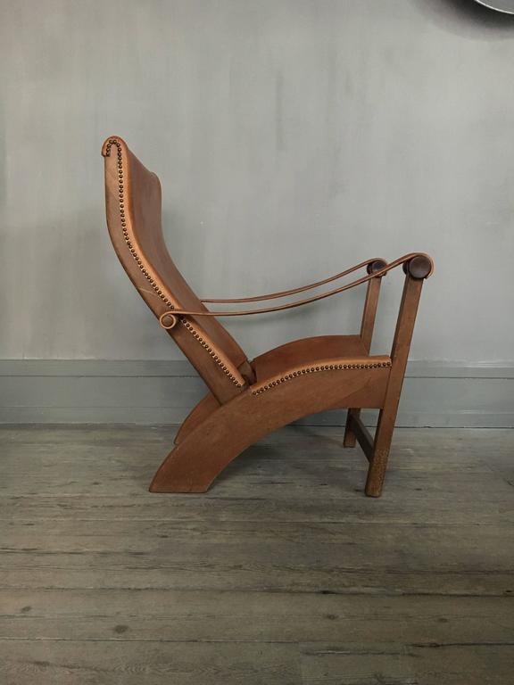 Scandinavian Modern Mogens Voltelen Copenhagen Chair for Niels Vodder For Sale
