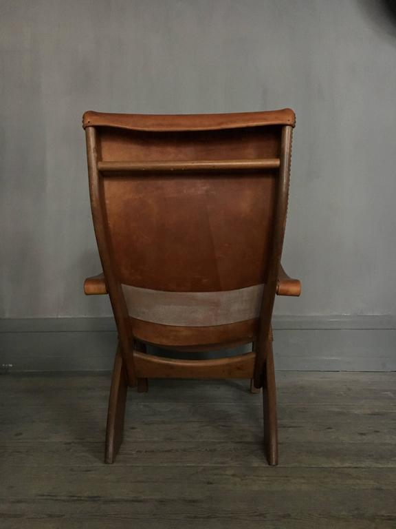 Danish Mogens Voltelen Copenhagen Chair for Niels Vodder For Sale