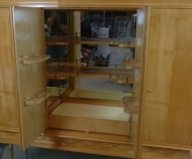 Bar Cabinet in Sycomore For Sale 3